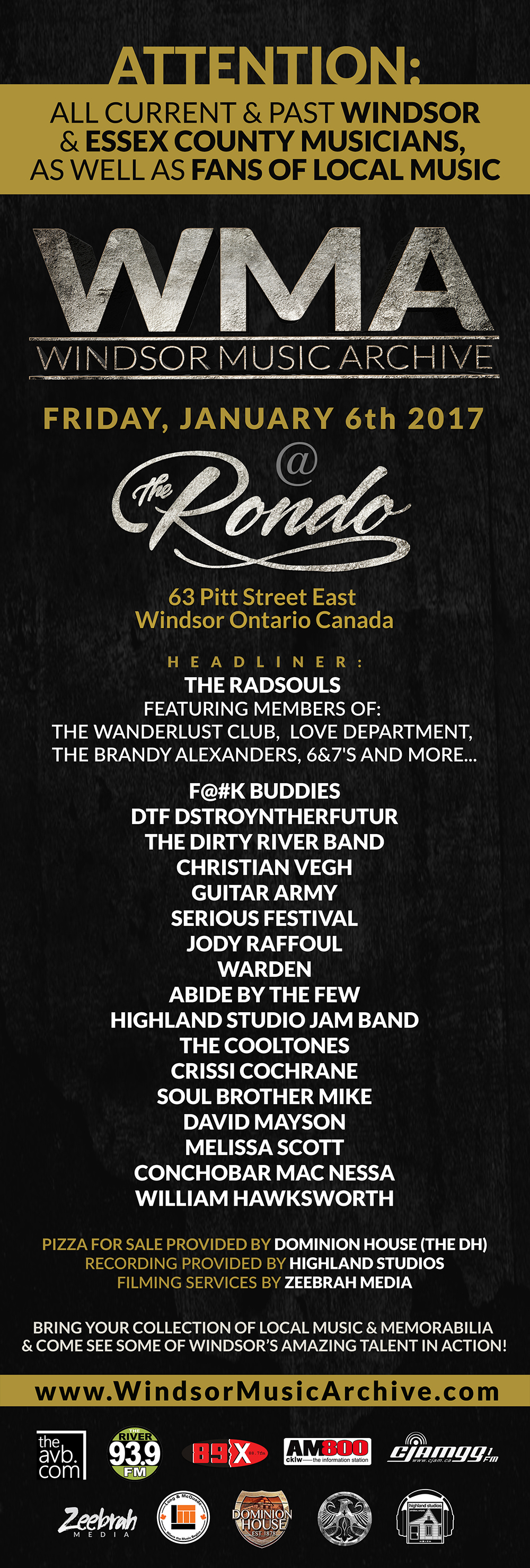 windsor music archive the dirty river band. Black Bedroom Furniture Sets. Home Design Ideas